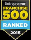 2015 Entrepreneur Franchise 500 Ranked