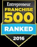 2016 Entrepreneur Franchise 500 Ranked